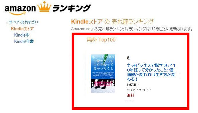 Amazon電子書籍8位